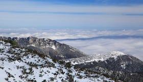 Widok od Wysokich Tatras gór Fotografia Stock
