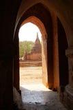 Widok od Ywa Haung Gyi świątyni Fotografia Royalty Free