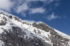 Widok od Zugspitze Niemcy Zdjęcie Royalty Free