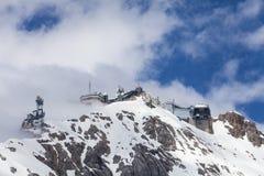 Widok od Zugspitze Niemcy Zdjęcie Stock