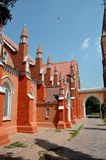 Widok odnawiący St Mary Dziewiczy Kościelny Katedralny Multan Pakistan zdjęcia stock
