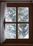 widok okno Zdjęcia Royalty Free