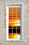 widok okno Obraz Stock