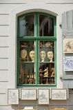 Widok okno pamiątkarski sklep w Meissen, Niemcy Obraz Royalty Free