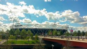 Widok Olimpijski stadium - spadek gry ja był clo fotografia stock