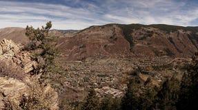 Widok osikowy Colorado Obrazy Royalty Free