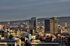 Widok Oslo placu hotel w Oslo Obrazy Stock