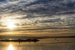 Widok oslofjord Obraz Royalty Free