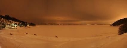 Widok oslofjord Zdjęcie Stock