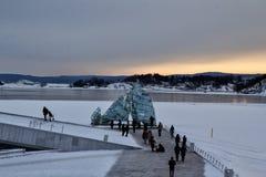 Widok oslofjord Zdjęcia Royalty Free