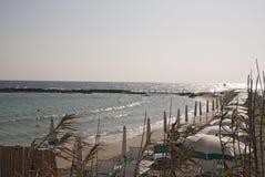 Widok Otranto plaże zdjęcie stock