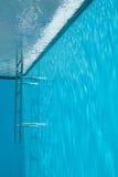 widok pływania w środku basenu Fotografia Royalty Free