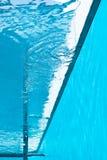 widok pływania w środku basenu Zdjęcie Stock
