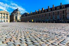 Widok pałac Versailles Zdjęcie Stock