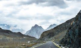 Widok Pakistan kraj Fotografia Stock