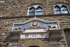 Widok Palazzo Vecchio obrazy stock