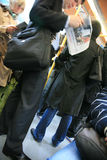widok Paris metra widok Zdjęcia Stock
