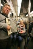 widok Paris metra widok Fotografia Royalty Free
