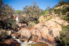 Widok park narodowy spada od dolnego viewing platformy a zdjęcie royalty free