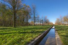 Widok park Parco Nord, Mediolan - Fotografia Royalty Free