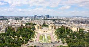 Widok Paryż zdjęcie royalty free