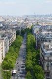 Widok Paryż (Francja) Zdjęcia Stock