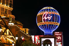 Widok pasek w Las Vegas Obraz Stock
