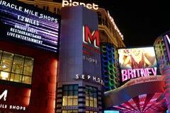 Widok pasek w Las Vegas Fotografia Stock