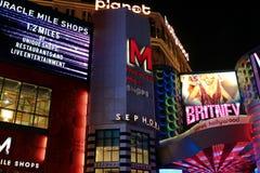 Widok pasek w Las Vegas Zdjęcie Royalty Free