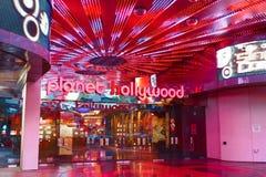 Widok pasek w Las Vegas Obraz Royalty Free