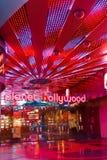 Widok pasek w Las Vegas Obrazy Royalty Free