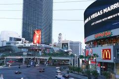 Widok pasek w Las Vegas Zdjęcia Stock