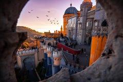 Widok Pena pałac zdjęcia royalty free