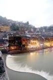 Widok Phoenix miasteczko (Fenghuang antyczny miasto) Obrazy Royalty Free