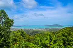 Widok Phuket miasteczko Fotografia Royalty Free