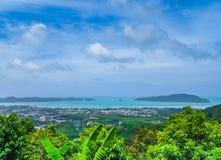 Widok Phuket miasteczko Obrazy Stock