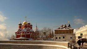 Widok Piękna świątynia i sala Zdjęcia Stock