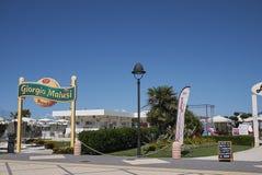 Widok plażowy klub Obrazy Royalty Free