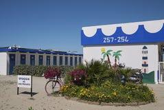 Widok plażowy klub Obrazy Stock
