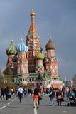 Widok plac czerwony w Moskwa Fotografia Stock
