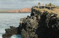 Widok Południowa plac wyspa zdjęcia royalty free