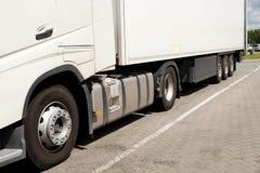 Widok podwozie część ciężarówka fotografia royalty free