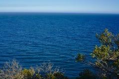 Widok pokojowy morze obrazy stock