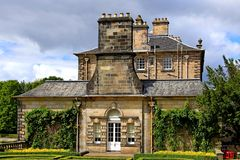 widok pollock dom Glasgow obrazy royalty free