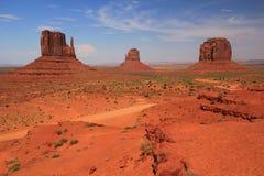 Widok Pomnikowa Dolina Zdjęcie Stock