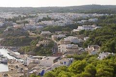 Widok port Santa Maria Di Leuca, Puglia, W?ochy obraz royalty free