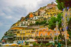 Widok Positano zdjęcie stock