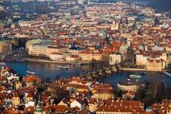 Widok Praga Zdjęcia Royalty Free