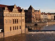 Widok Praga (republika czech) Zdjęcia Royalty Free