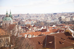 Widok Praga republika czech, Fotografia Stock